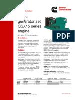 QSX15 Datasheet