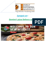 srs on online pizza delivery.docx