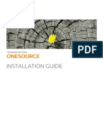 TR ONESOURCE Installation Guide