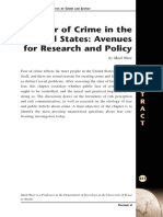WARR, Mark. Fear of crime in the United States. avenues for research and policy.pdf