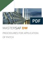 Mastersaf DW Procedures Application Patch