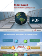 01-HedEx Support Global Platform for Delivery and Services-A.pps