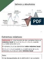 S7-Extremos Relativos