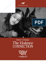 First Strike- The Violence Connection