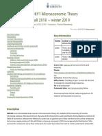 ECO206Y1 Blanchenay 2018-19 Outline