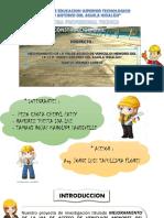"""Diapositivas:PROYECTO MEJORAMIENTO DE LA VIA DE ACCESO AL I.E.S.T.P""""PEDRO A. DEL AGUILA HIDALGO""""LORETO-IQUITOS-PERU"""
