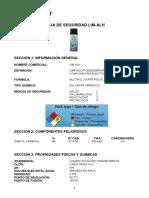 Alcohol Isopropilico LIM-ALH_Hoja_Seguridad Steren