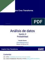 Resumen Probabilidad eafit analisis de datos