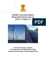 Monthly Generation Report  (Renewable Energy Sources)  2012-13 (August 12)  2012-13 (August 12).pdf