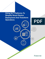 Forrester Using IIoY Platforms to Simplify Smart Device Deployment