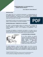 Adm Pub Peruana Discrecionalidad y Legalidad MSM-PUCP