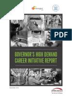 high demand career initiative report