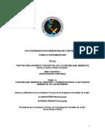 Pautas Para Un Marco Conceptual de La Contabilidad Ambiental (Hacia El Quinto Estado Contable)