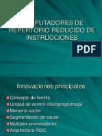 COMPUTADORES DE REPRTORIO REDUCIDO DE INST5RUCCIONES.ppt