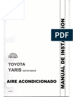 Aire Acondicionado Toyota Yaris HB