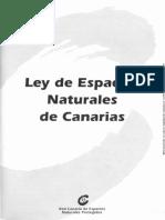 Ley de Espacios Naturales de Canarias