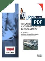 Sistemas de Detección de Humo Para Aeropuertos y Estaciones de Metro