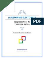 La Reforme Electorale à L'ile Maurice