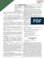 Decreto Legislativo que modifica diversos artículos de la Ley Nº 30063 Ley de Creación del Organismo Nacional de Sanidad Pesquera (SANIPES)