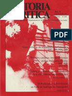 Revista Historia Crítica N° 1