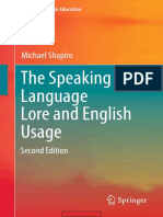 The Speaking Self Language Lore and English Usage