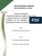 Plan Haccp Para Matadero Municipal