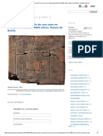 Primer Plano Conocido de Una Casa en Mesopotamia(Hace 4000 Años), Museo de Berlín. _ Matemolivares
