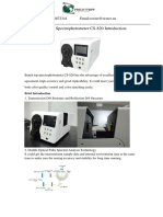 CS 820 Espectrofotometro