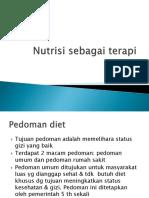 Nutrisi sebagai terapi