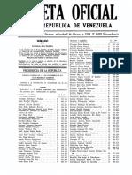 Gaceta Oficial de la República de Venezuela 6 de febrero de 1980