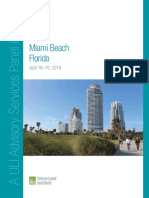 ULI Advisory Services Panel Report for Miami Beach, Stormwater Management Program