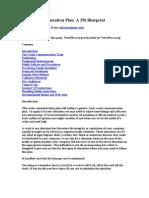 Crisis Communication Plan a PR Blueprint