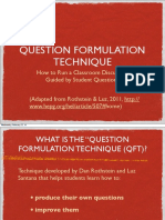 Question Formulation Technique