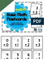 FlashcardsBasicMathFREEBIE.pdf
