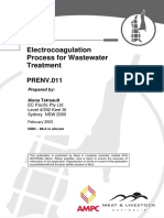 ENV 2003 Electrocoagulation Process for Wastewater Treatment