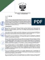 RESOLUCIÓN de DIRECCIÓN EJECUTIVA Nº 067-2016-SERFOR-De (Aprobar Los Lineamientos Para El Otorgamiento de La Autorizacion de Institucion Cientifica Nacional Depositaria de Material Biológico)