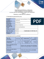 Guía de actividades y rúbrica de evaluación – Paso 2 – Muestreo e intervalos de confianza