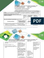 Guía de Actividades y rúbrica de evaluación Ciclo de la tarea- Tarea 3 - Caso práctico