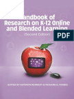 Handbook for research on online learning