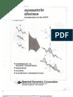 Trigonometric Transforms (Frederic J. Harris)
