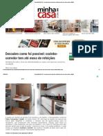 Revista MinhaCASA - Descubra como foi possível_ cozinha-corredor tem até mesa de refeições.pdf