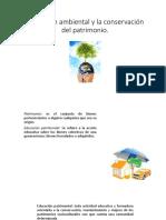 13. Educación Ambiental y La Conservación Del Patrimonio