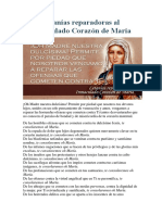 Letanías Reparadoras Al Inmaculado Corazón de María