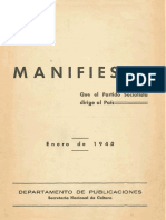 Manifiesto PS