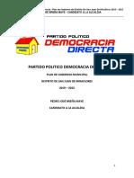 Plan Democracia Directa