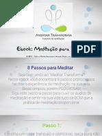 eBook- Meditação Para Iniciantes - Os 8 Passos