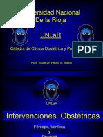UNLAR+-++Intervenciones+Obstetricas.ppt