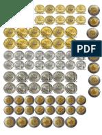Monedas Plantilla
