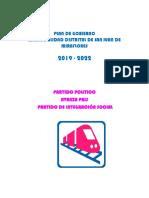 Plan Avanza País - Partido de Integración Social