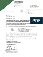 Surat Kursus Kenaikan Pangkat Pegawai Waran 2018